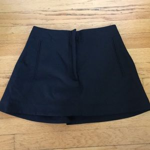 Black Zara Skort NWT